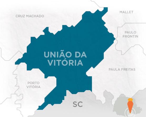 3e1219c0b Mapa União da Vitória