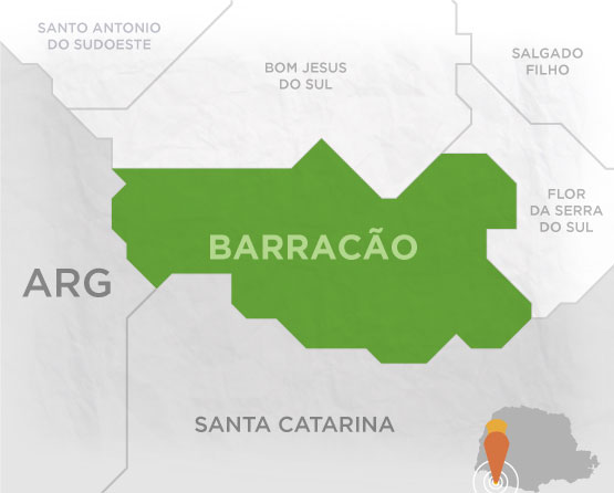 Mapa Barracão
