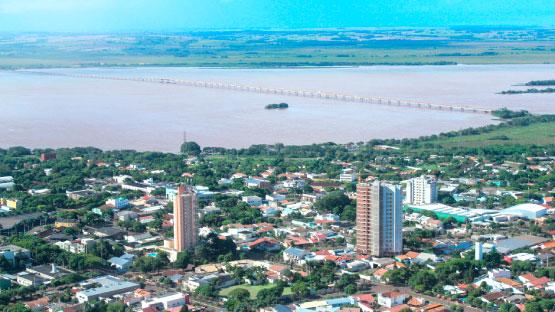 Guaíra Paraná fonte: www.viajeparana.com