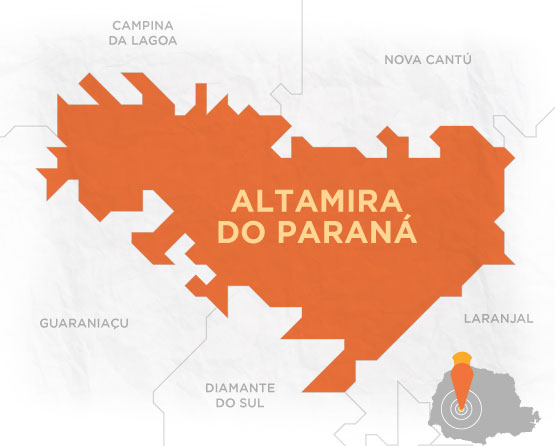 Mapa Altamira do Paraná